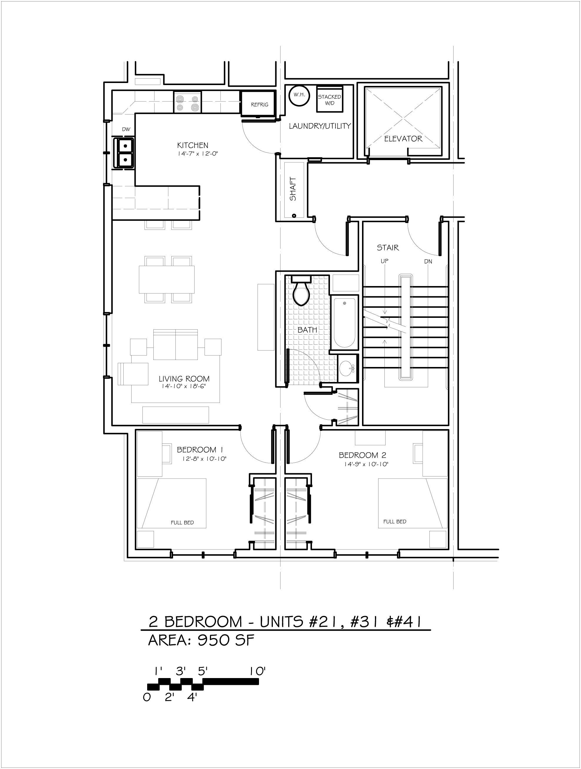 2 bedroom 1 bath apartments. one 2 bedroom  1 bath apartment of 950 square feet clickable link to floor plan Apt 21 Coal Yard Apartments Building 3 Beer Properties Ithaca NYBeer